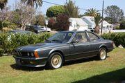 1985 BMW 6-SeriesEuro Spec